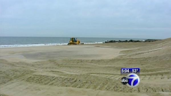 Coastal residents prepare for erosion