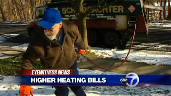 Home heating oil prices on the rise