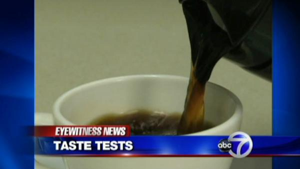 Putting coffee to the taste test