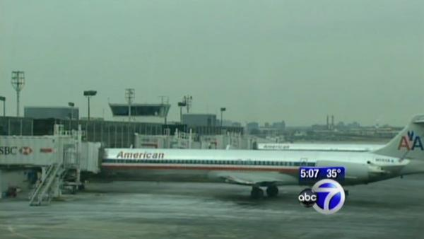 Storm impacts air travel