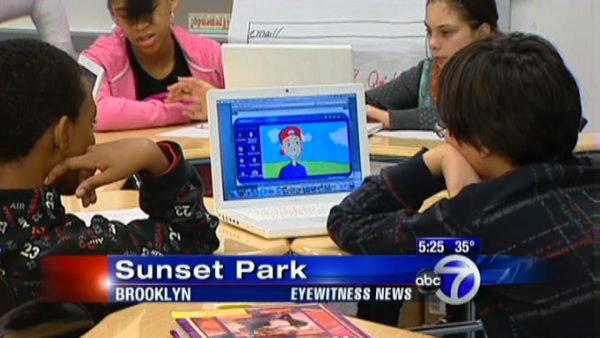 New technology helps kids to learn