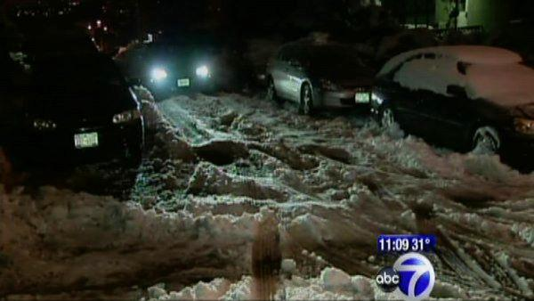 New York City continuing to clear away snow