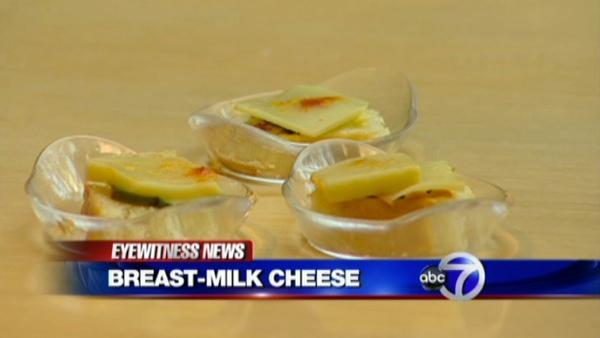 breast milk cheese