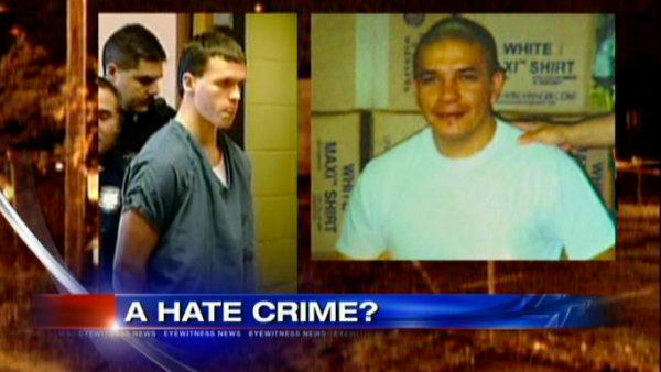 Alleged hate crime murder trial underway