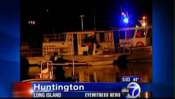 Carbon monoxide blamed in LI house boat deaths
