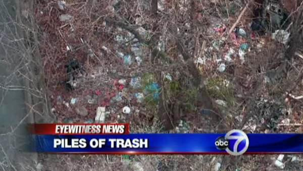 Illegal dumping problem in Wakefield