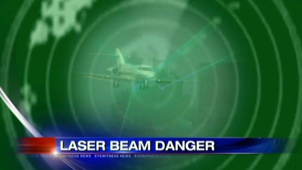 Authorities look into laser used at area airports