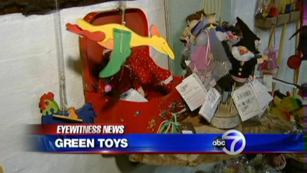Green toys in time for Earth Day