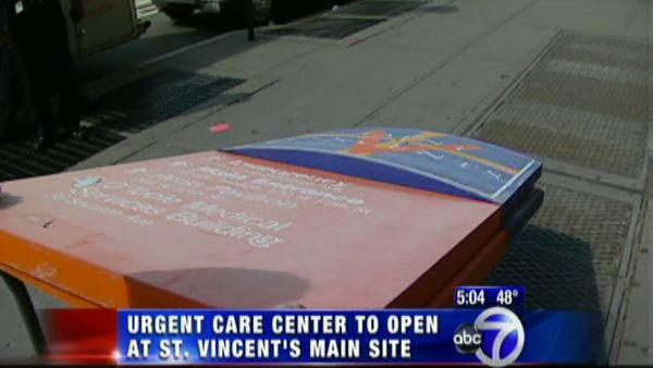 Lenox Hill to run urgent care center at St. Vincent's