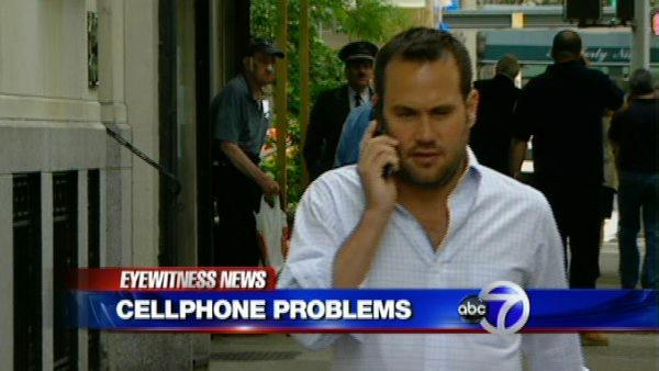 New York City's cellphone dead zones