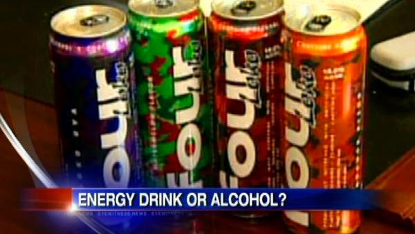 Energy drink or alcohol?