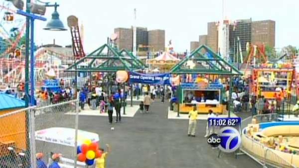 Coney Island's Luna Park opens for business