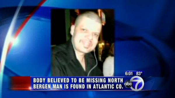 Body believed to be missing NJ man