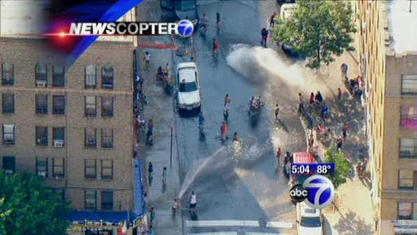 Opening fire hydrants could hinder fighting fires