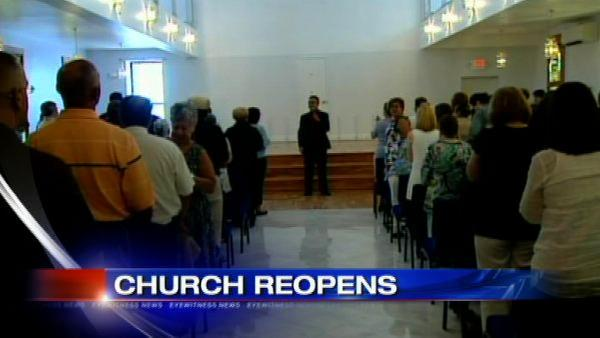 Bronx church destroyed by arson reopens