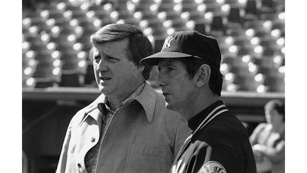 george steinbrenner and billy martin
