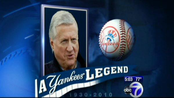 Yankees owner George Steinbrenner dies