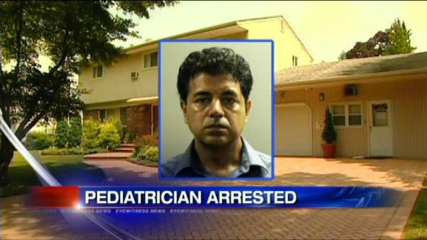 Pediatrician accused of making videos of young patients