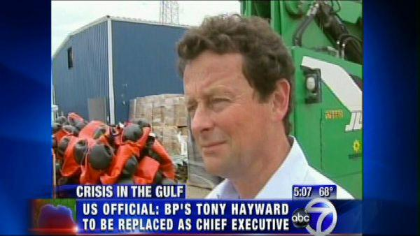 Hayward out as BP CEO?