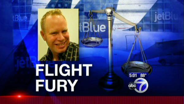 JetBlue flight attendant inspires angry workers