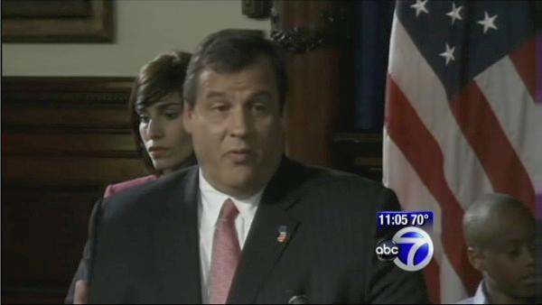 Christie fires education commish.