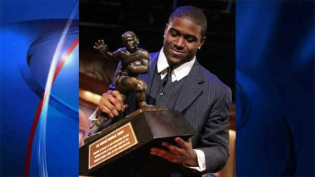 Reggie Bush giving up Heisman Trophy