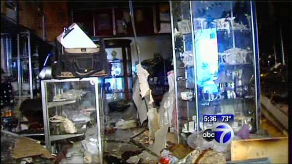Owner saves wedding dresses in burned shop