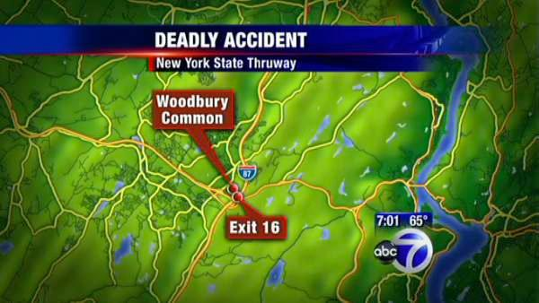 Church van crashes, kills 6 on Thruway