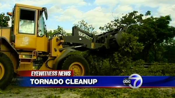 New York City cleans up following tornadoes