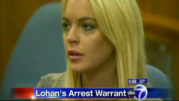 Lohan facing more jail time after warrant