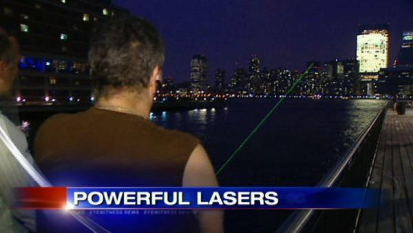 Powerful handheld lasers pose high risks