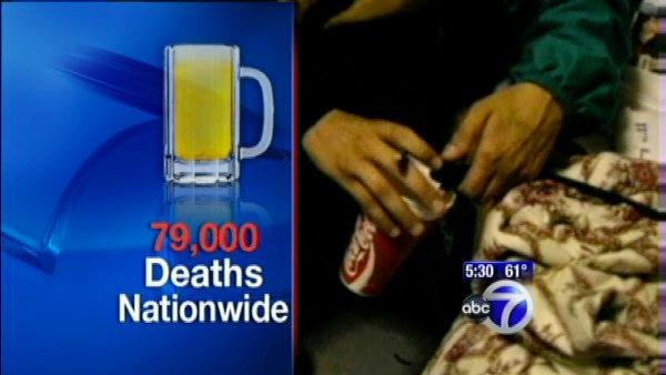 New report on binge drinking
