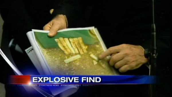 Explosives found in Manhattan cemetery