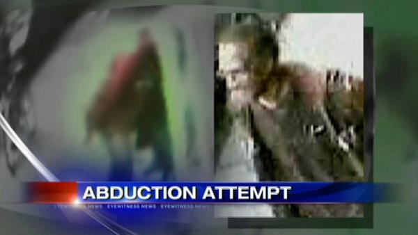 Search for suspect in attempted abduction