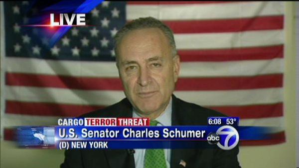 Sen. Charles Schumer on terror threat