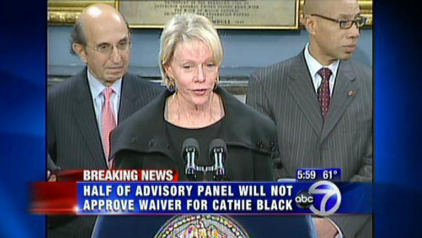 Panel declines to recommend waiver for Black