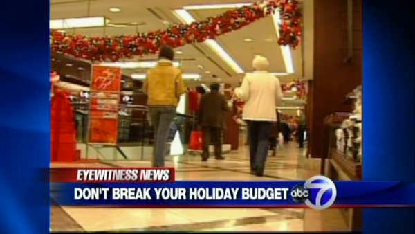 Sticking to a holiday budget