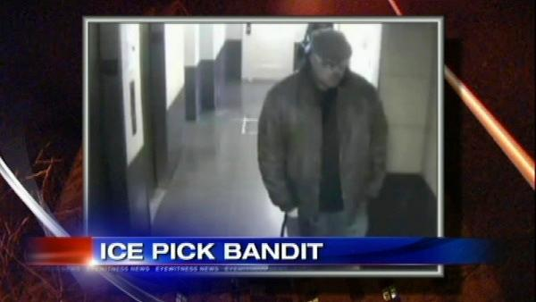 Ice pick bandit suspected in more muggings