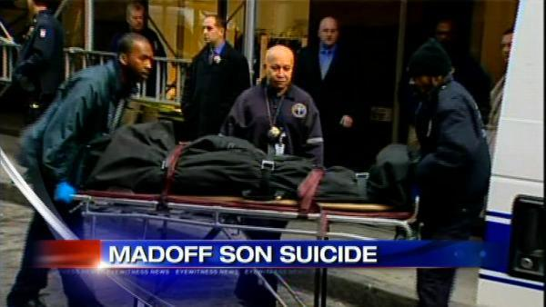 Bernie Madoff's son found dead in NYC apartment