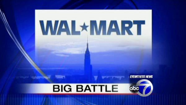 Wal-Mart pushes to bring store to NYC