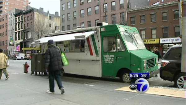 Taco truck forced to move from Upper East Side