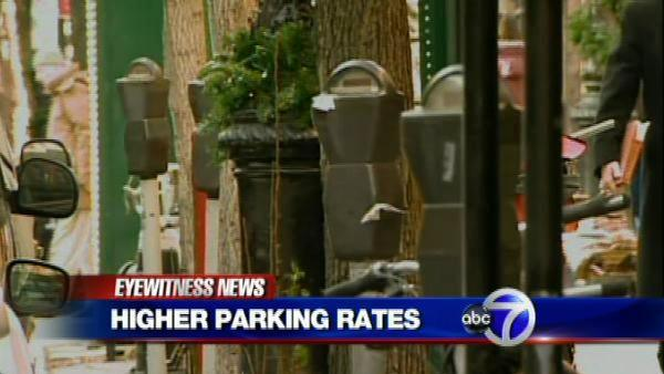 Fight over parking meter rate hike