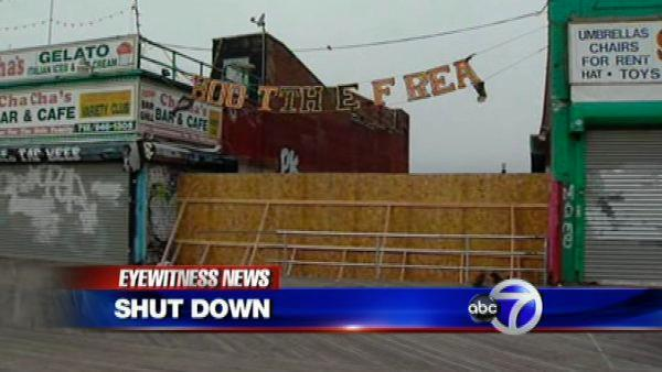 'Shoot the Freak' bulldozed on Coney Island