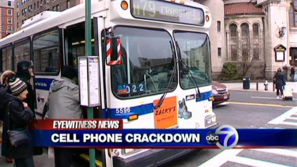 MTA's new 'zero tolerance' cell phone crackdown
