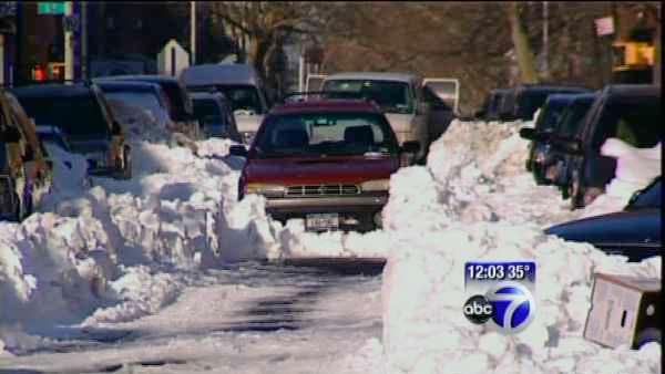 Some Brooklyn streets remained unplowed