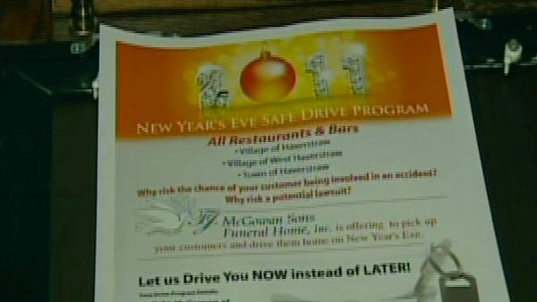 Funeral home offers safe rides on New Year's Eve