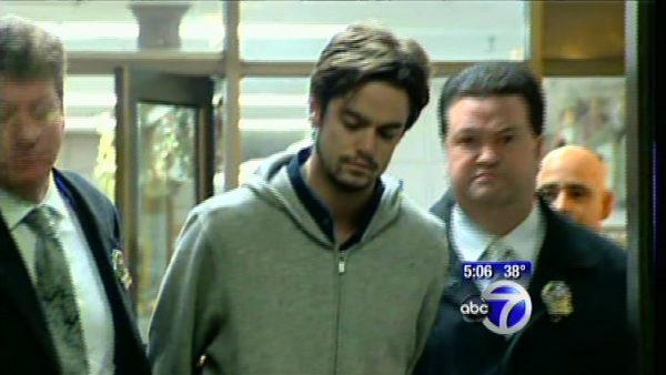 Songwriter's son pleads not guilty to murder
