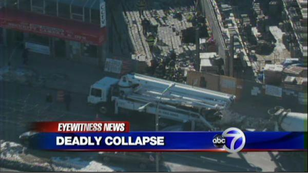Construction worker killed in Queens wall collapse