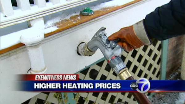 Heating oil prices hit new highs