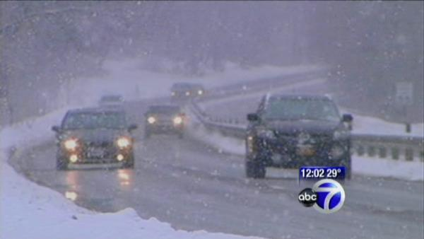 Snow in Chappaqua causes school delays